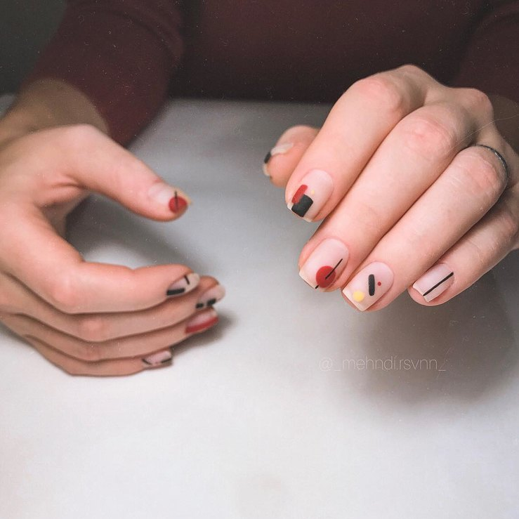 32 ideas for autumn manicure that are worth trying on right now